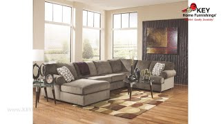 Ashley Jessa Place 3 Piece Sectional With Chaise (APK-39802-L3) | KEY Home