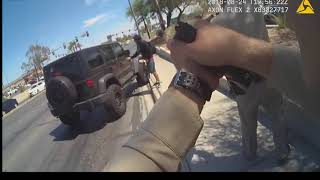 BODYCAM: Las Vegas Officer Shoot Man That Stabbed Two Woman