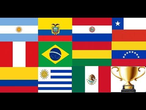 TOPS LOS CLUBES MAS IMPORTANTES DE SUDAMERICA CON (MEXICO) PART . 1