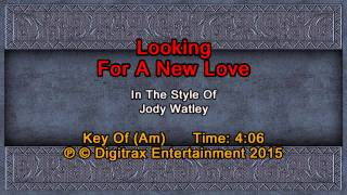 Jody Watley - Looking For A New Love (Backing Track)