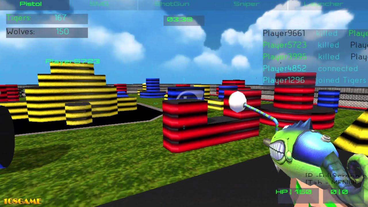 Pixel Paintball