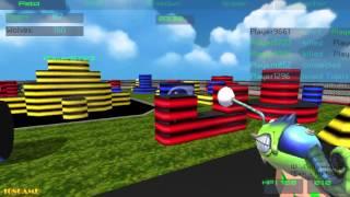 Paintball Fun 3D Pixel Gameplay