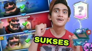 WIN ELITE CHALLENGE & DAPET LEGENDARY ANEH - Clash Royale Indonesia