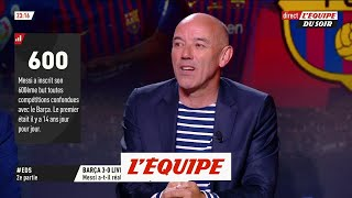 VIDEO: Le Guen «On a senti beaucoup d'implication de la part de Messi»  C1