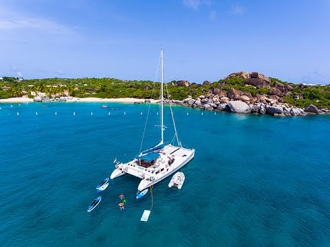 Catamaran QUEST Virgin Islands Crewed Charter