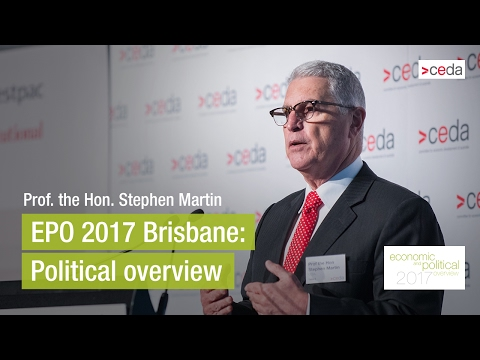 Political overview by Prof. the Hon. Stephen Martin - EPO 2017 Brisbane
