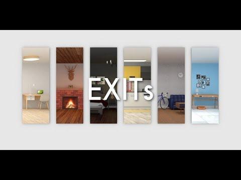 Room Escape Game - EXITs Walkthrough