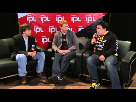 IPL5 - Red Baron, Scarra and Pluto backstage
