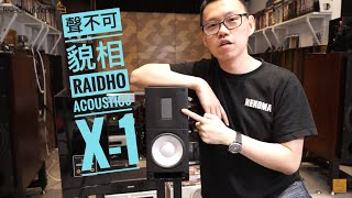 Appearance can be deceiving! Audio Review of Danish Raidho Acoustics X-1
