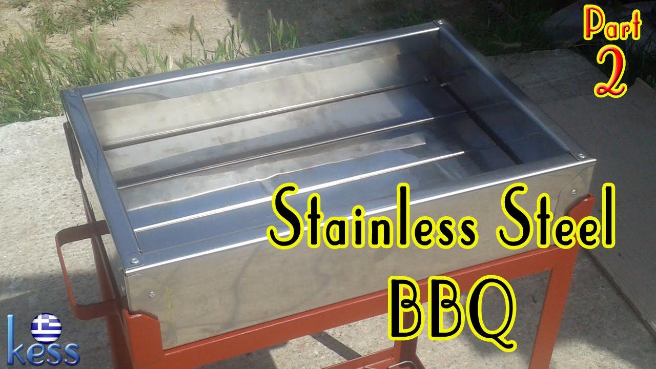Stainless Steel Barbecue Part2 Ανοξείδωτη Ψησταριά