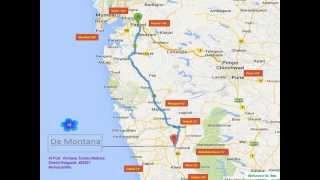 DeMontana Location Map | Easy to reach | www.demontana.com