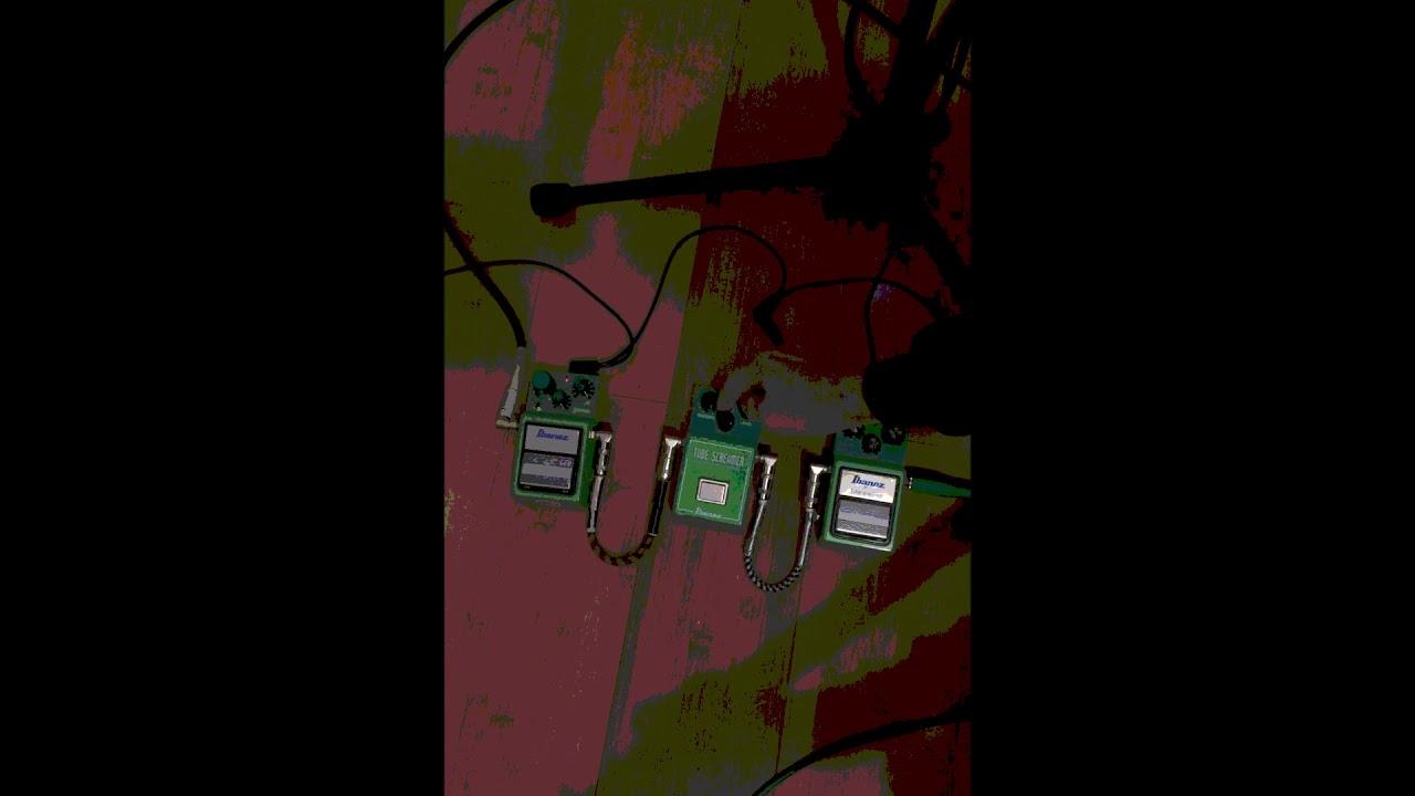 episode X Classic Guitar Pedal: Demo Ibanez TS9 Tube Screamer Mod vs TS808  Japan vs early TS9 Japan