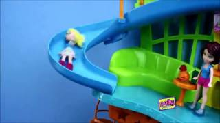 Polly Pocket Wall Party Mall On The Wall Fashion Doll Playset