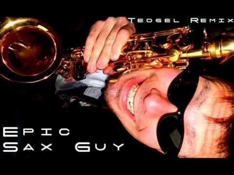 Epic Sax Guy ( Hardstyle Remix )  Tedgel  Hardstyle Son