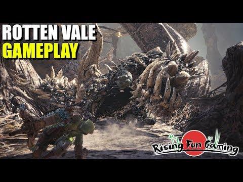 Monster Hunter World: NEW Rotten Vale Gameplay!