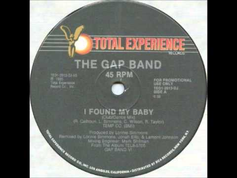 I Found My Baby Instrumental-The Gap Band