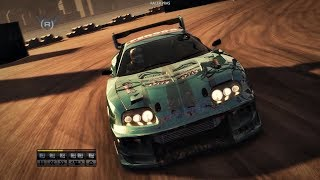 Racedriver GRID - Toyota Supra - Docks Route C2 - Race Replay