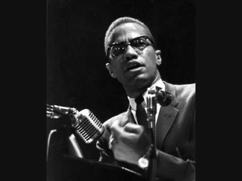 Malcolm X - You are afraid to bleed