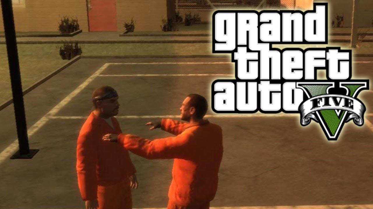 ★ GTA 5 - Going to Prison! | GTA5 Talk Ep. 26