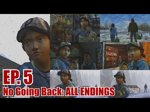 The Walking Dead Season 2 Episode 5 No Going Back All Endings