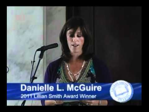 Danielle McGuire Receives Lillian Smith Book Award for 2011 (newly enhanced)