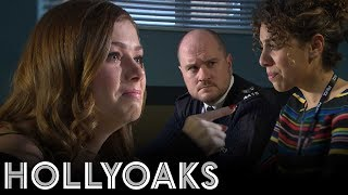 Hollyoaks: Maxine quizzes DS Cassidy