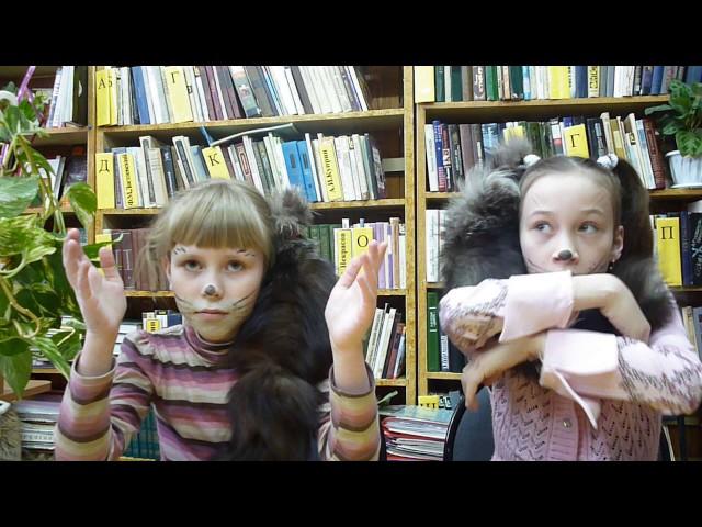 Изображение предпросмотра прочтения – «Мария Казаковцева и Юлия Падунина» читает произведение «Котята» С.Я.Маршака
