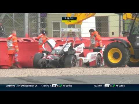 Pechito López fue hospitalizado tras sufrir un accidente en el circuito de Silverstone