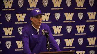 UW vs ND - Post game press conference with Coach Petersen