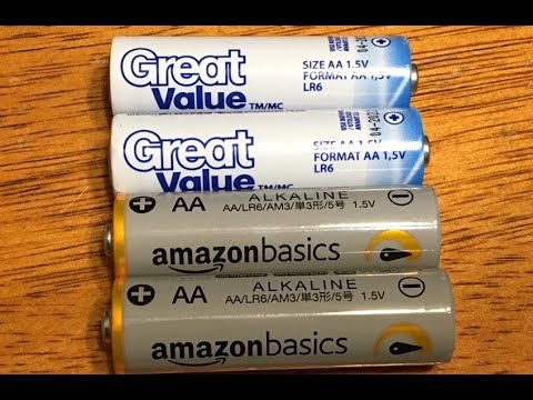 battery-review:-amazon-basics-vs-wal-mart-great-value-alkaline-battery-showdown