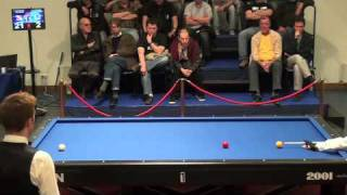 Dick Jaspers run of 22 in 3 cushion billiards
