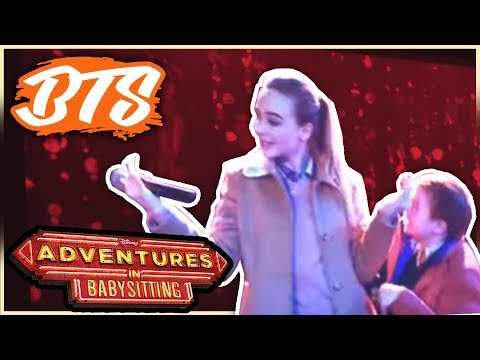 """""""We're the Babysitters"""" SECOND Rehearsal - Paul Becker's -Adventures in Babysitting on Disney Channel"""