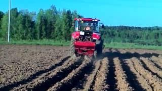 Картоплесаджалка Л 201 на ЛМЗ 804