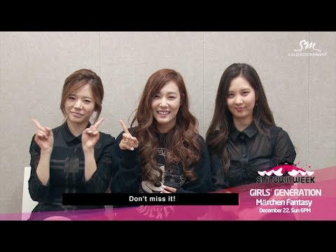 "SMTOWN WEEK Girls' Generation ""Märchen Fantasy""_Girls' Generation Interview"