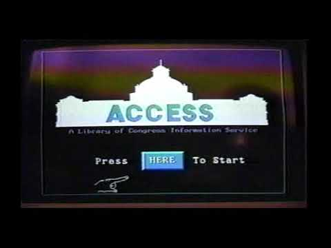 ACCESS: an online public access catalog at the Library of Congress (1992)