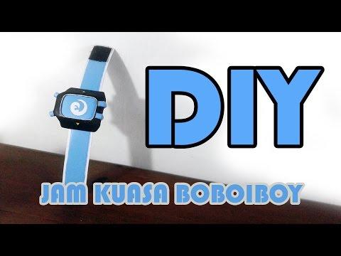 Cara Membuat Jam Kuasa BoBoiBoy