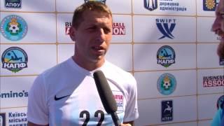 Виталий Сидоренко играющий тренер ФК