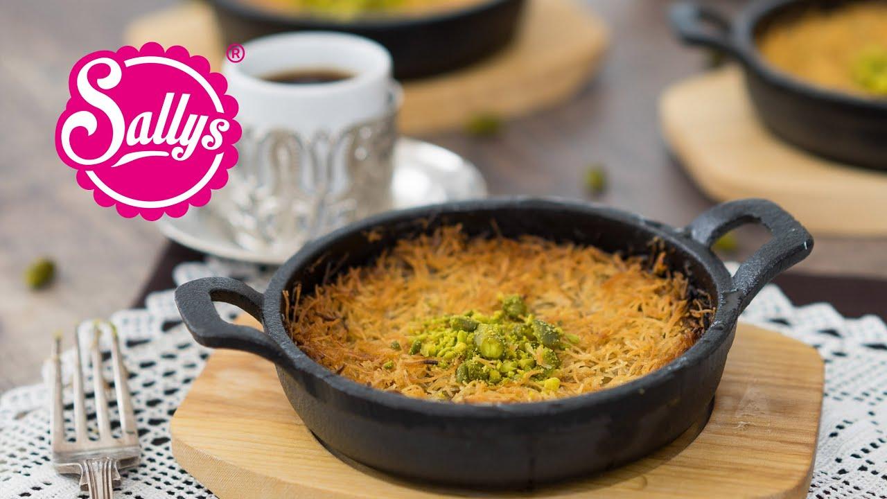 Künefe / Konafa / Kanafeh – orientalisches Dessert / Sallys Welt