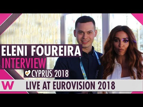 Eleni Foureira (Cyprus) Interview@ Eurovision 2018 | wiwibloggs