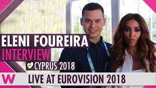 Eleni Foureira (Cyprus) Interview  @ Eurovision 2018 | wiwibloggs