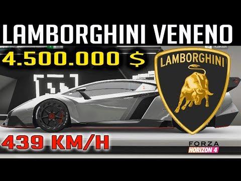 💰 4.500.000 $, VENENO, EL LAMBORGHINI MÁS CARO   FORZA HORIZON 4 thumbnail