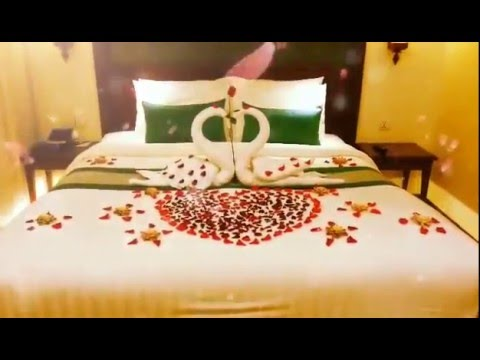 Honeymoon Decorating Idea Honeymoon Bed Decoration Hotel Bed Decor For Honeymoon Couple