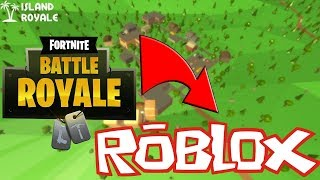 FORTNITE IN ROBLOX? (Roblox Island Royale!) (Fortnite For Bad PC's)