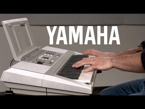 Yamaha YPT 340 Portable Keyboard | Demonstration