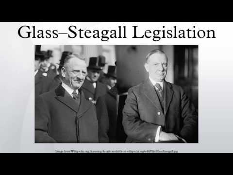 Glass–Steagall Legislation
