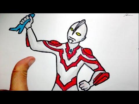 Cara Menggambar Ultraman Menangkap Pesawat Musuh Youtube