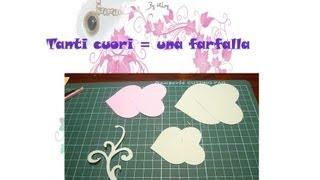 DIY: Tanti cuori una farfalla / many hearts a butterfly