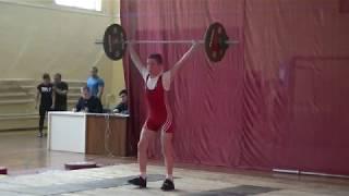 Ксенофонтов Матвей, 14 лет,с в  46 Рывок 47 кг