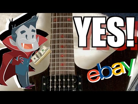 I Vound A KILLER Deal On EBay | Guitar Hunting With Trogly