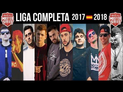 Las MEJORES RIMAS de la FMS 🇪🇸 LIGA COMPLETA / 2017–2018 ¡MUY ÉPICO!